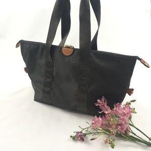 Bric's Olive Green Folding Duffle Tote Bag